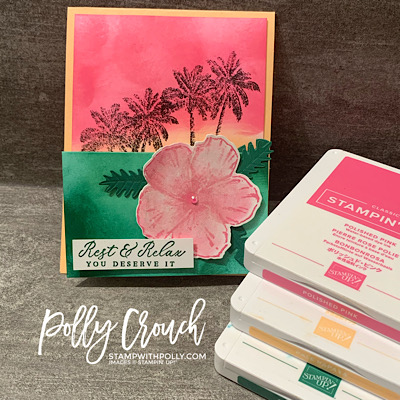 Timeless Tropical Fun Fold Card