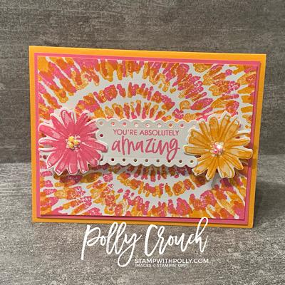 Spiral Dye & Color & Contour Card