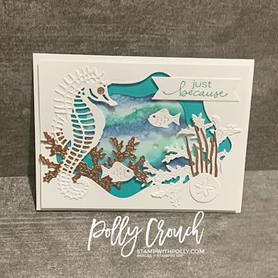 Seascape Sea Life Card